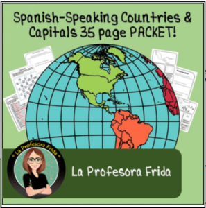 Spanish Speaking Countries of the World LESSONS made easy